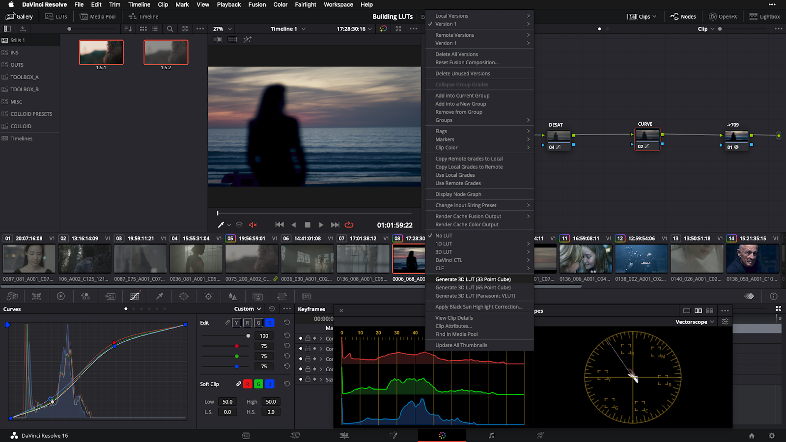 13 Exporting LUT