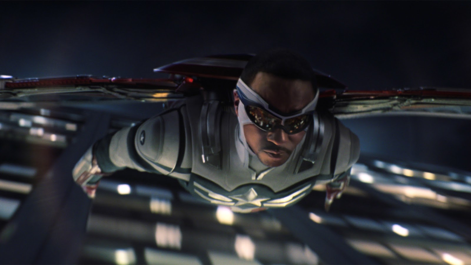 Sam takes flight in the final episode of The Falcon and The Winter Soldier