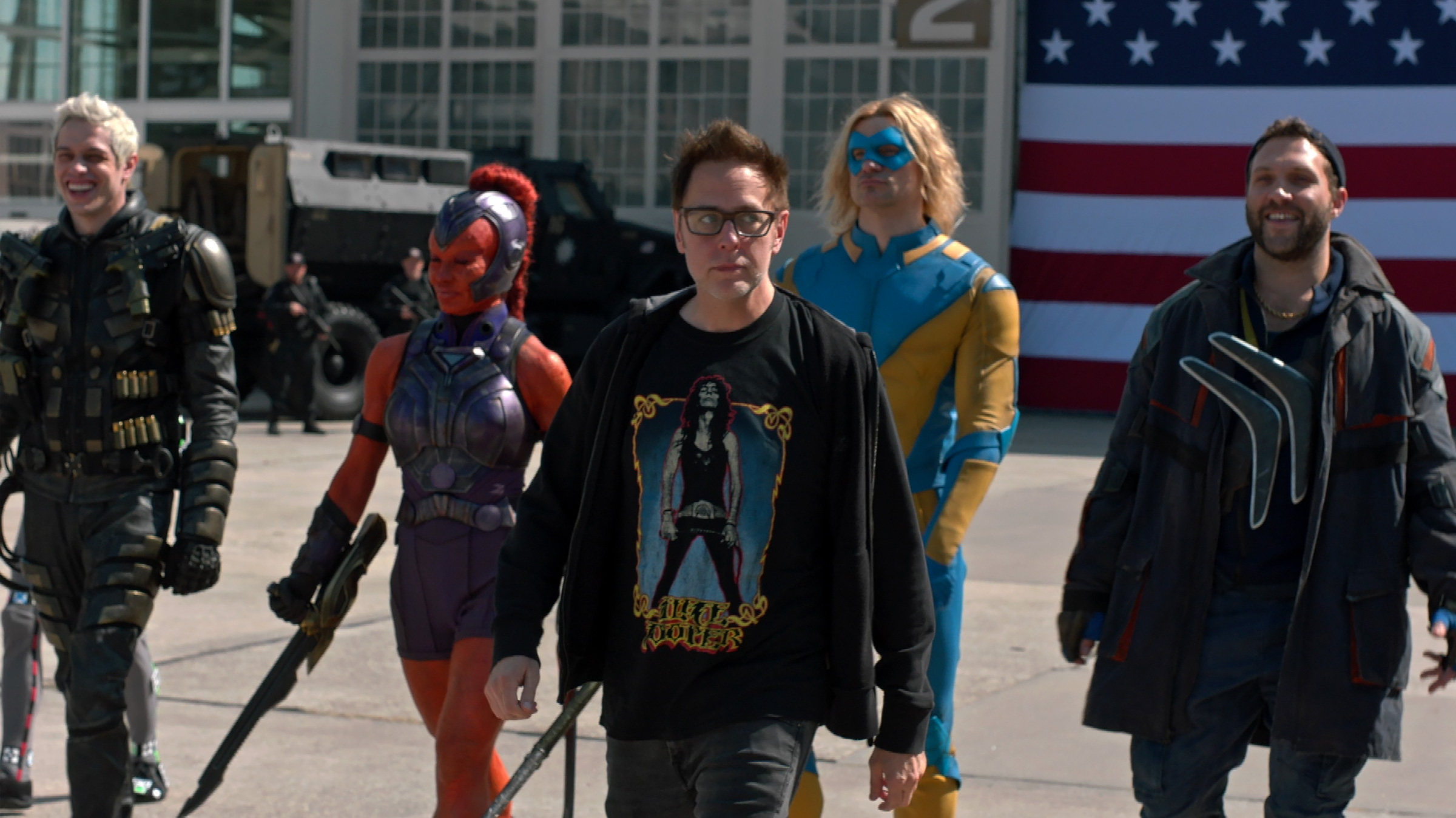 """Art of the Cut: Working Under the Gunn in """"The Suicide Squad"""""""