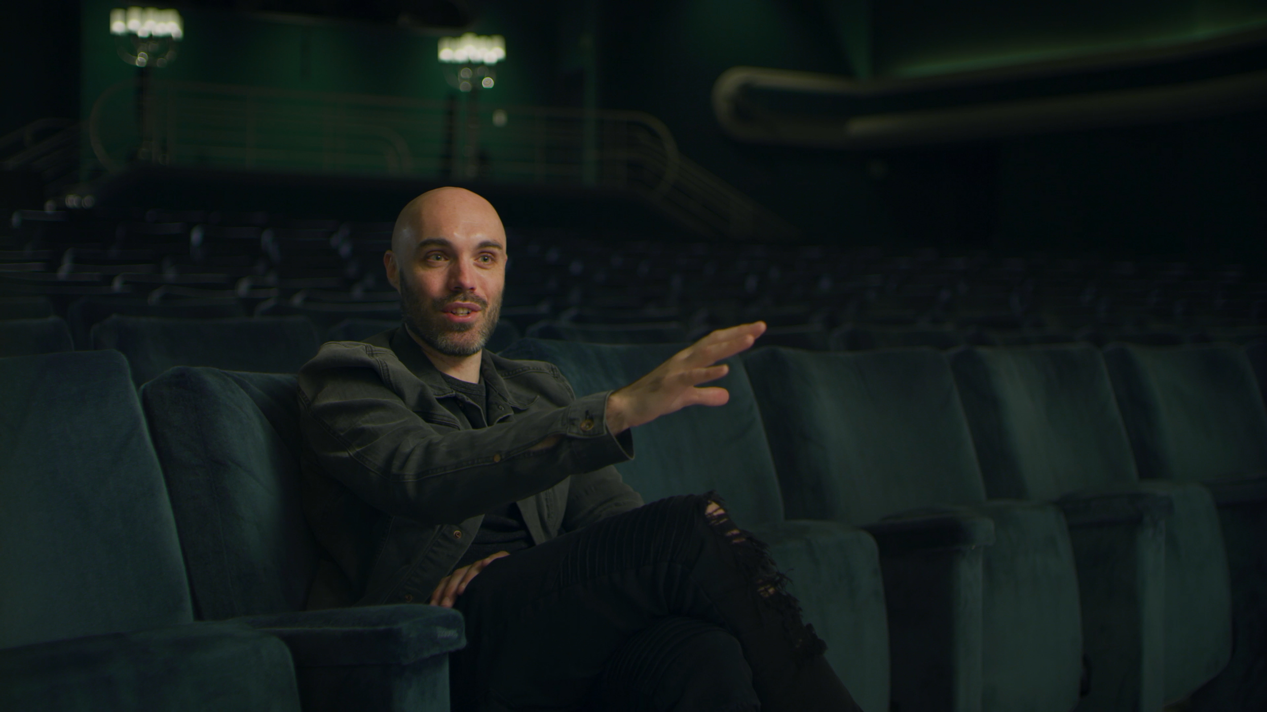 """Filmmaker David Lowery discusses his film """"The Green Knight""""."""