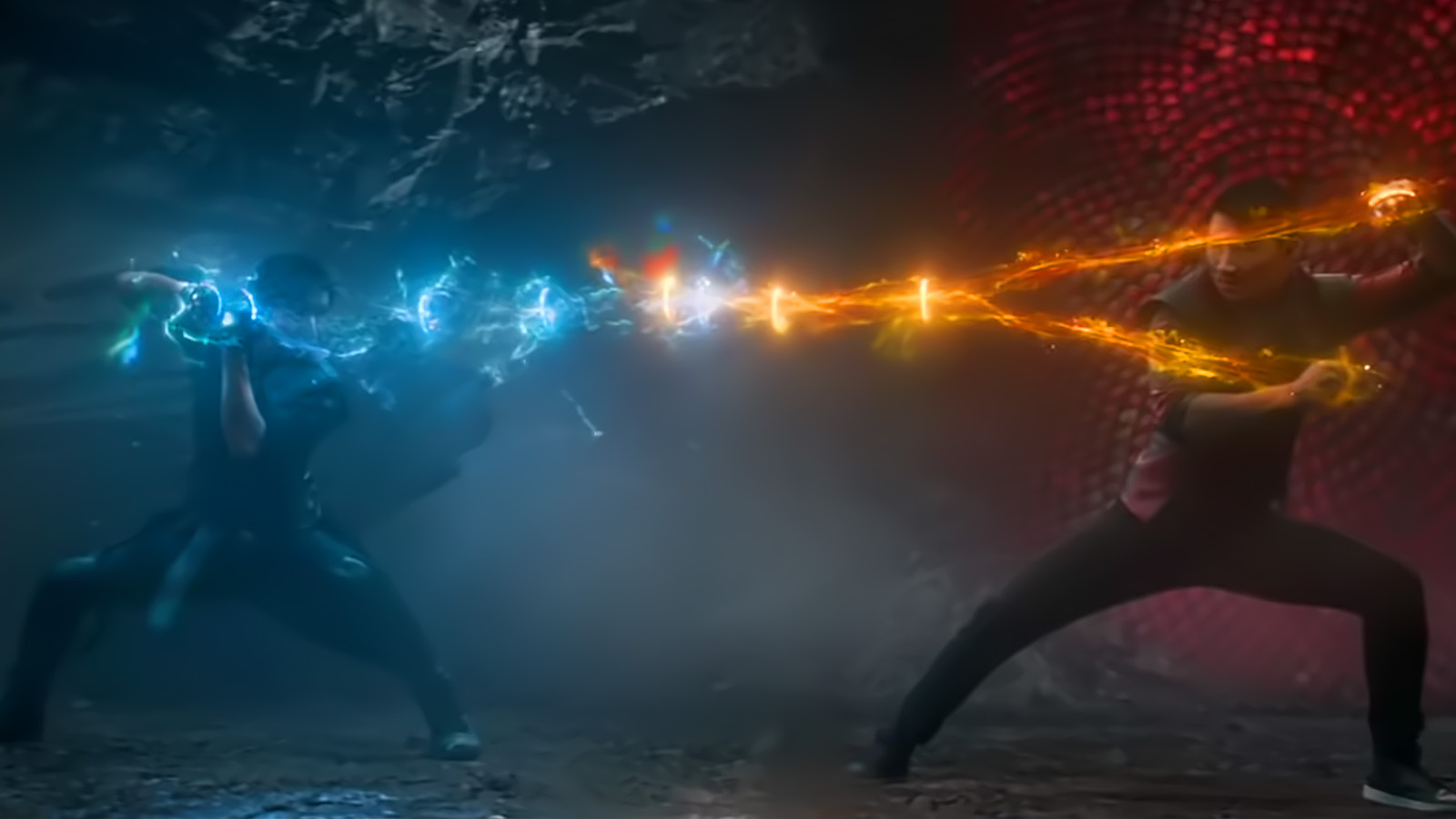 Red vs Blue. Shang-Chi faces up to his father issues.